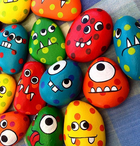 Rock-colourful-monsters