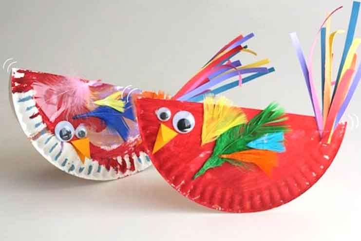 Paper-Plate-Birds