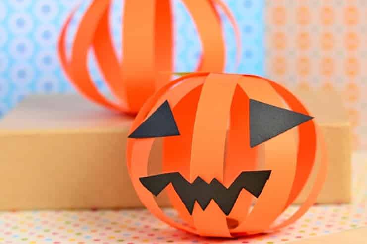 Paper-Pumpkin-Craft