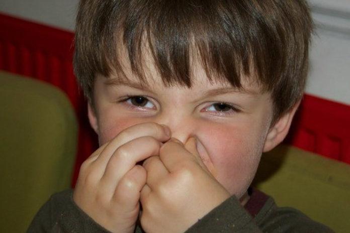 Body-odor-in-children