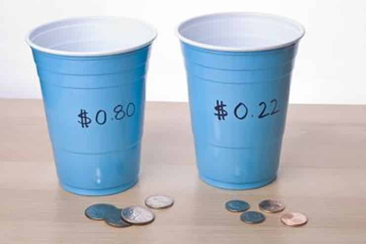 Cup-and-Coin-game