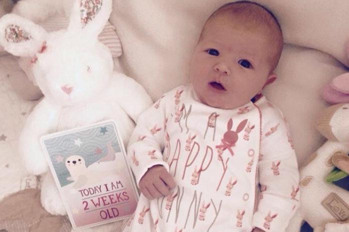 Milestones-of-2-week-old-baby