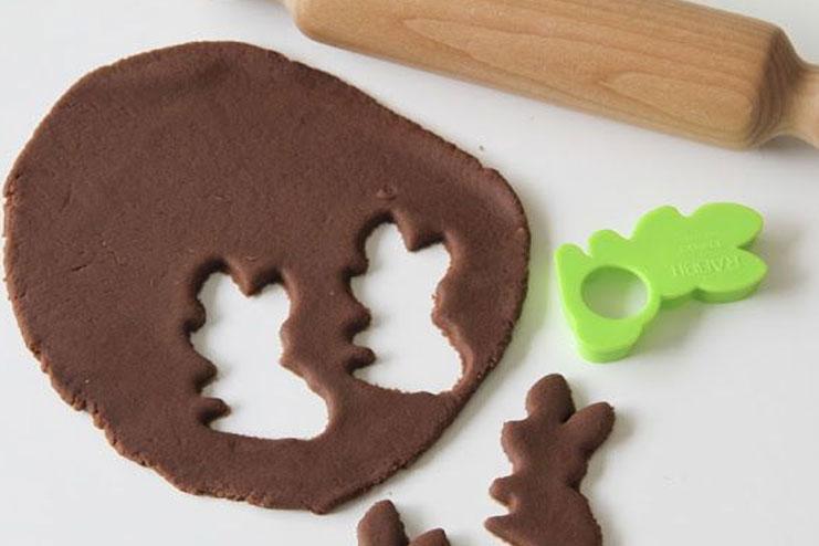 Chocolate play Dough