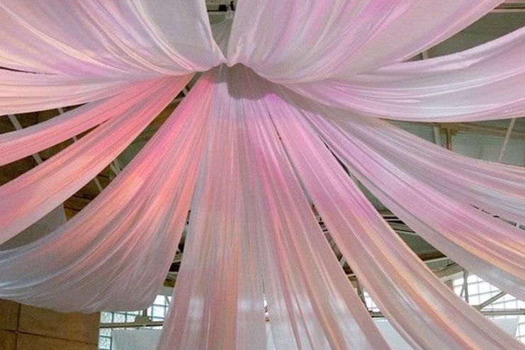 Fabric cloth decorations