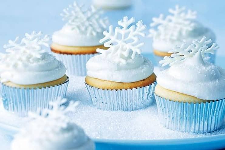 Snowflake-Cupcake
