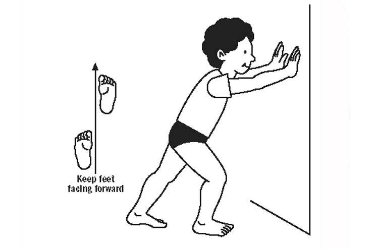 Standing-calf-stretches