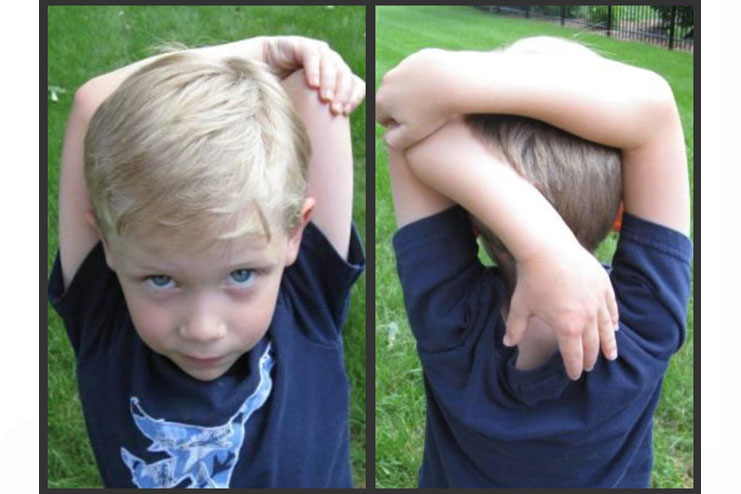 Triceps-stretch