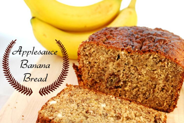 Banana-bread-recipe-with-applesauce