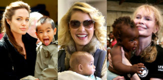Celebrities-adopted-a-child