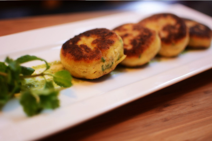 Curd-Fritters