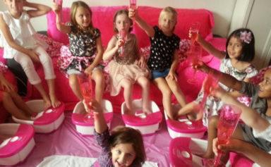 Spa-birthday-party