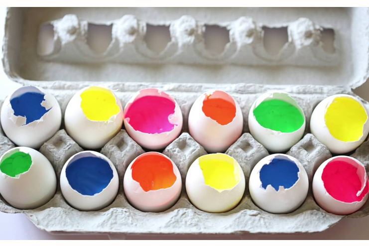 Art-with-paint-filled-eggs