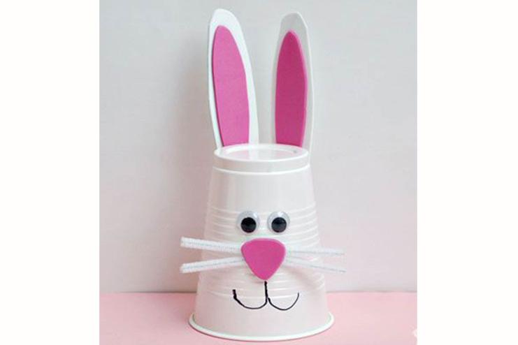 Bunny-cup-crafts