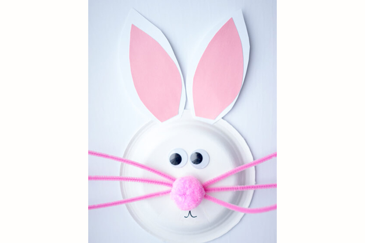 Paper-Plate-Bunny