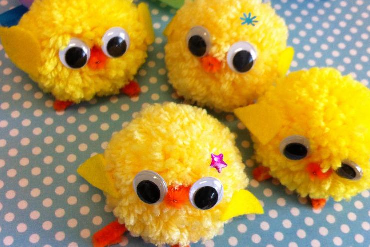 Pom-Pom-chicks