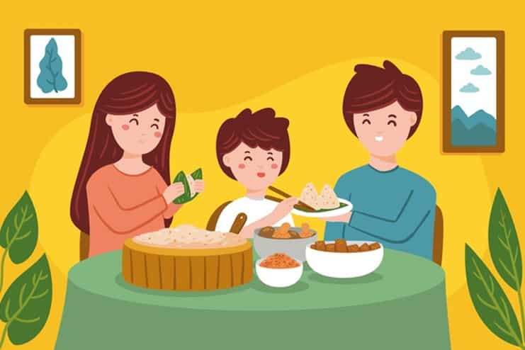 Follow a healthy diet for whole family