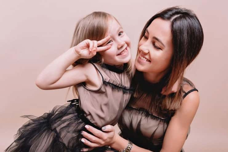 Do a photoshoot with your kid