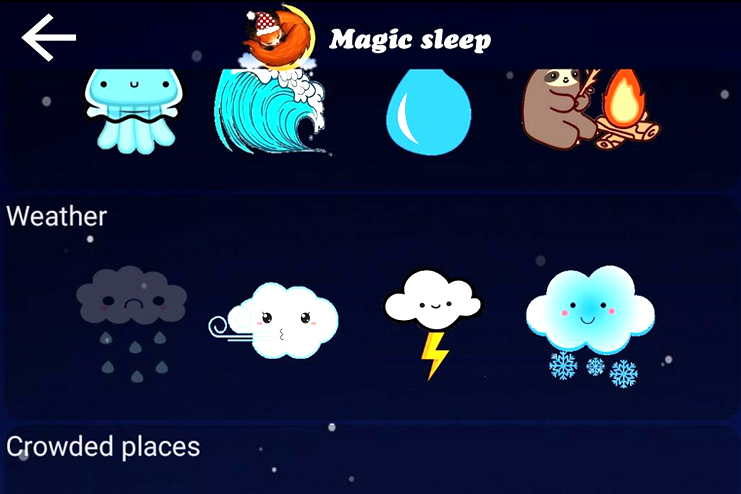 Magic sleep